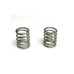 PA0045 BMT 984 Silver Shock Spring Front (2pcs)