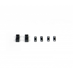 PA0210-1 BMT 984 Fissaggio servo e spacer (4+4pz)