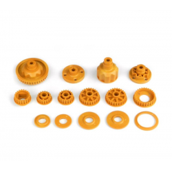 PA7231 BMT 701 Kit Hard Orange Pulley + Differential Case