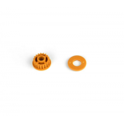 PA7232 BMT 701 Pulley 19T with Flange - Orange