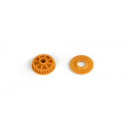 PA7233 BMT 701 Pulley 25T with Flange - Orange