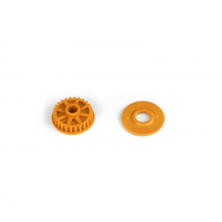 PA7234 BMT 701 Pulley 26T with Flange - Orange