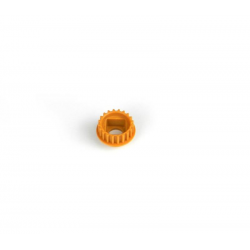 PA7236 BMT 701 Pulley 20T with Flange - Orange