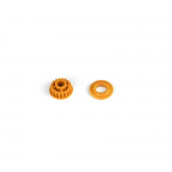 PA7237 BMT 701 Pulley 18T with Flange - Orange